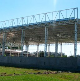 Nave Industrial FORSAC CMPC – Chillán